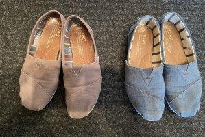 Toms Buty wciągane szary-niebieski