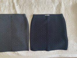 Promod Jupe tricotée noir-gris foncé