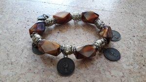 2 Stück -Orientalisch orangsch Armband - Modeschmuck