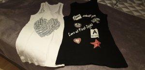 2 T-shirts Gr.S