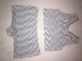 Pantalón corto deportivo gris