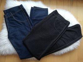 Treggings nero-blu scuro