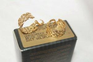 Avon Pendientes de clip color oro