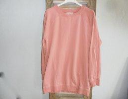 24 Colours  Sweatshirt Langarmshirt mit Schlitz