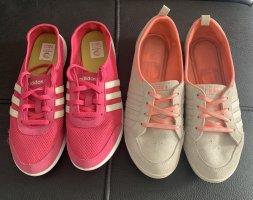 2mal Adidas Sommer Turnschuhe