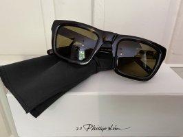 3.1 Phillip Lim Kwadratowe okulary przeciwsłoneczne Wielokolorowy