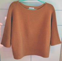 Hailys Maglione girocollo arancione-arancione scuro Poliammide
