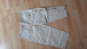 Pantalon 3/4 crème-beige