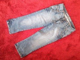 Jeans 3/4 gris ardoise