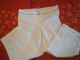 Pantalon 3/4 blanc cassé