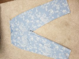 dagi Pyjama blanc-bleu azur