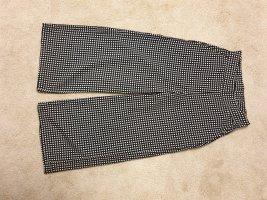 Mango 3/4 Length Trousers white-black