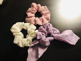 Cinta para el pelo color rosa dorado-púrpura