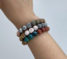 Bracelet grey-steel blue