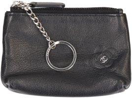 Chanel Porte-clés bleu foncé cuir