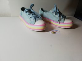 38 omg Schuhe blau rosa gelb