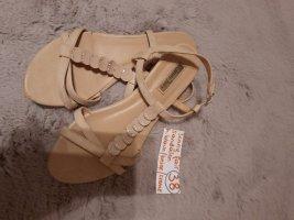 38 Sandalen beige braun