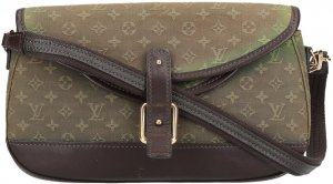 38723 LOUIS VUITTON MARJORIE HANDTASCHE AUS MONOGRAM MINI LIN CANVAS IN KAKI TON SUR TON