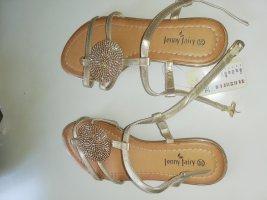 39 Sandalen gold Jenny fair neu