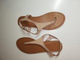 39 Schuhe Sandalen braun beige