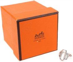 39691 Hermès Ring 925er Silber in Größe 52 mit Box