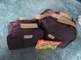 3er Taschenset Nylon Reisetasche Kosmetiktasche Schminktasche
