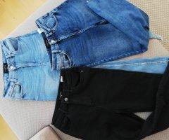 3x Reserved Jeans hoch und gerade geschnitten