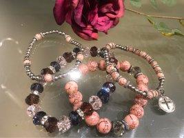 Bransoletki z perłami Wielokolorowy