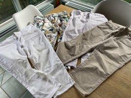 Esprit Pantalone a 3/4 bianco