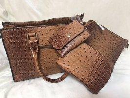 4 in 1 Le Miel Damen Handtasche Tasche Bag 35 x 26cm