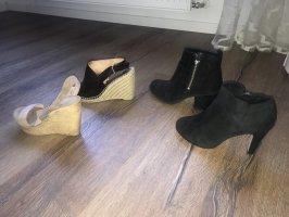 4 paar Schuhe in 38