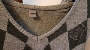 4Wards Capuchon sweater lichtgrijs-donkergrijs