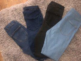 4 x Topshop joni Jeans