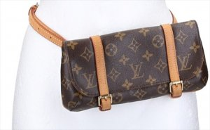 40001LOUIS VUITTON MARELLE BUMBAG BAUCHTASCHE AUS MONOGRAM CANVAS