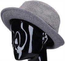 Hermès Wollen hoed grijs-zwart Wol