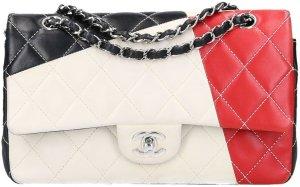 41124 Chanel CC Timeless Flap Tasche Handtasche Gr. Medium aus farbenfrohem Glattleder