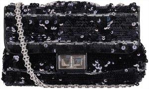 41845 Chanel Reissue Flap Umhängetasche - Handtasche (244) aus Lackleder mit Pailletten besetzt