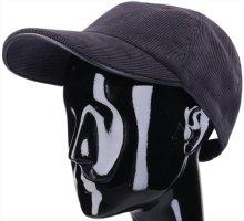 Hermès Gorra de béisbol azul oscuro Poliéster
