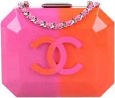 42228 Chanel CC Minaudiere Clutch Tasche in Ombre Pink & Orange Cruise 2016