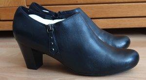 5th Avenue Wciągane buty za kostkę czarny