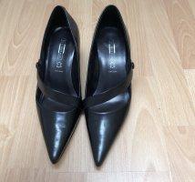 5 th Avenue Stiletto noir cuir