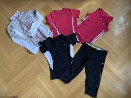 5-tlg., schönes Sportset von Nike, Adidas und Marmot, Gr. XS oder 34/36
