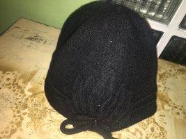 Silkroad Wollen hoed zwart Wol