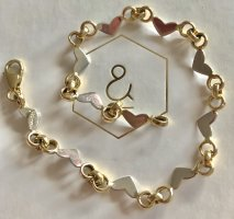 Echtgold Brazalete de oro color oro