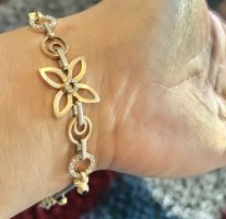 Echtgold Bracelet en or multicolore