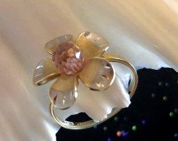 585 Gold bicolor Blütenring