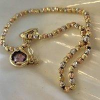 Echtgold Bracelet doré