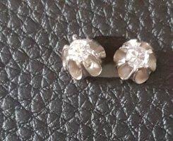 Boucles d'oreille en or blanc