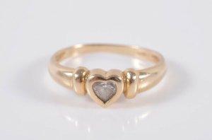 585 Gold Ring Goldring 14k Herz Juwelierstück,
