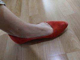 5th Avenue Ballerinas rot und schwarz